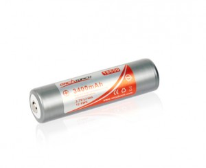 Akumulator 18650 - 3400 mAh - OrcaTorch