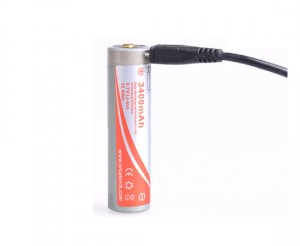 Akumulator 18650 USB - 3400 mAh - OrcaTorch