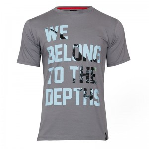 "T-shirt męski ""We Belong"" - BlackShark"